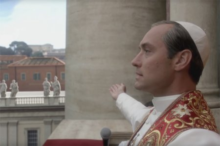 Джуд Лоу в сериале про Папу Римского!
